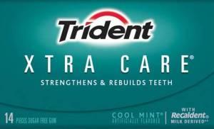 Trident Xtra Care gum